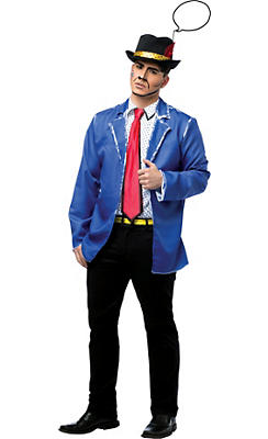 Adult Pop Art Man Costume