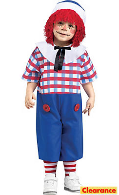 Toddler Boys Raggedy Andy Costume
