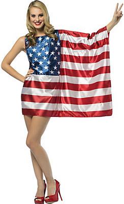 Adult American Flag Dress