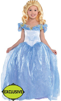 Girls Cinderella Costume - Disney Cinderella