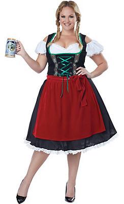Adult Oktoberfest Beer Wench Costume