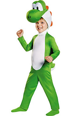 Toddler Boys Yoshi Costume - Super Mario Brothers