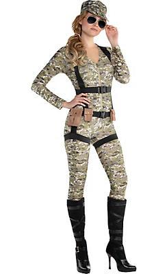 Adult Skyfall Suzie Paratrooper Costume