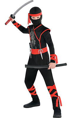 Boys Shadow Ninja Costume