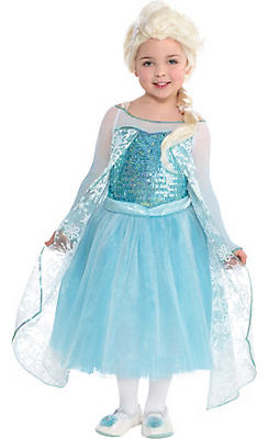 Toddler Girls Elsa Costume Premier - Frozen