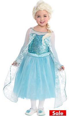 Toddler Girls Elsa Costume Premier - Frozen