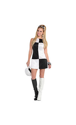 Adult Mod Girl 60s Costume