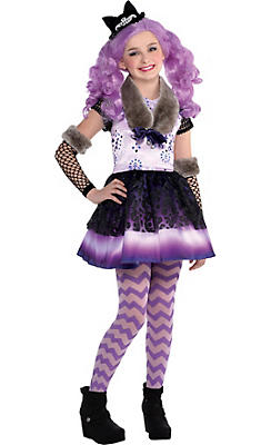 Girls Kitty Cheshire Costume - Ever After High