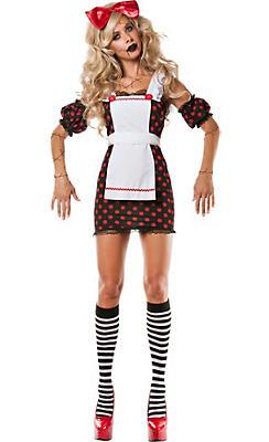 Adult Evil Rag Doll Costume