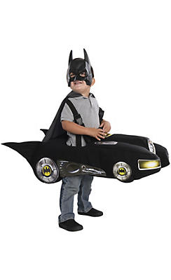 Toddler Boys Ride-In Batmobile Costume - Classic Batman