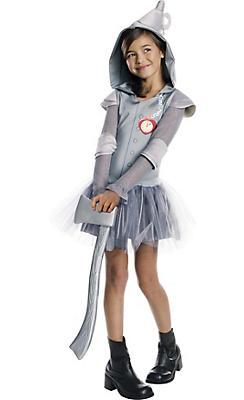 Girls Hooded Tin Man Tutu Costume - The Wizard of Oz
