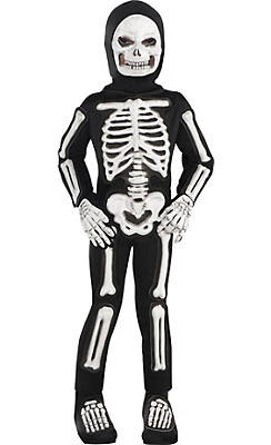 Toddler Boys Totally Skelebones Skeleton Costume