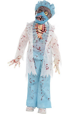 Little Boys Surgeon Zombie Costume