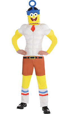 Boys SpongeBob Muscle Costume - The SpongeBob Movie