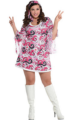 Adult Ivanna Go Go Costume Plus Size