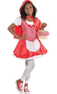 Toddler Girls Classic Red Riding Hood Costume