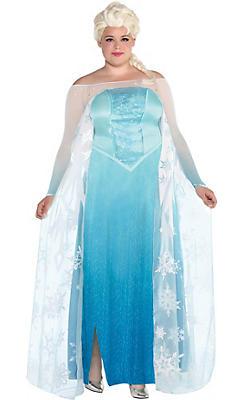 Adult Elsa Costume Plus Size - Frozen