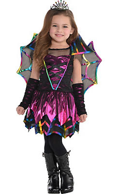 Toddler Girls Spider Fairy Costume