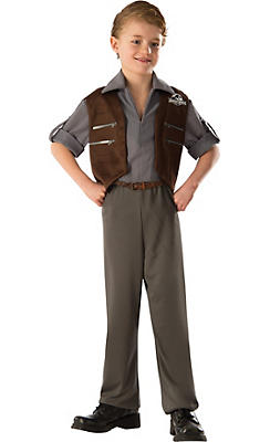 Boys Owen Costume Deluxe - Jurassic World