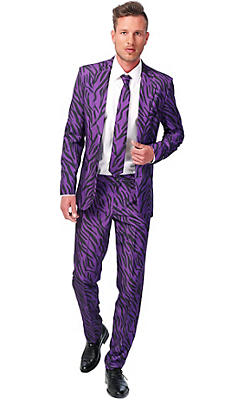 Adult Purple Pimp Suit