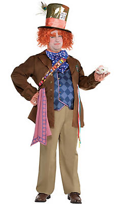 Adult Mad Hatter Costume Plus Size - Alice Through the Looking Glass