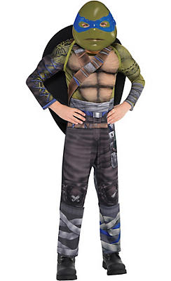 Little Boys Leonardo Muscle Costume - Teenage Mutant Ninja Turtles 2