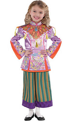Little Girls Alice in Wonderland Costume - Alice Through the Looking Glass