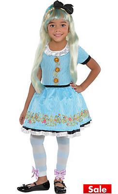 Little Girls Ally Costume - Disney's Descendants