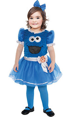 Baby Cookie Monster Tutu Dress - Sesame Street