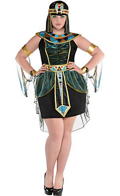 Adult Nile Goddess Costume Plus Size