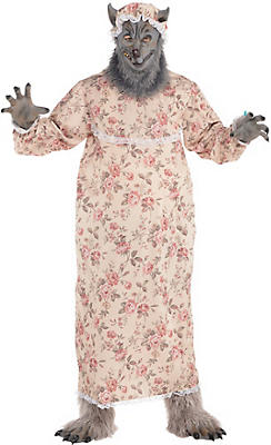Adult Grandma Wolf Costume Plus Size