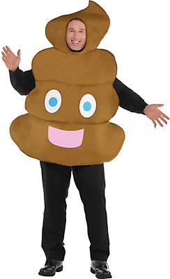 Adult Poop Icon Costume Plus Size