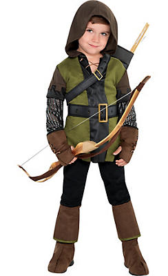 Little Boys Prince of Thieves Robin Hood Costume