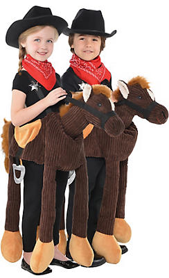 Boys Pony Ride-On Costume