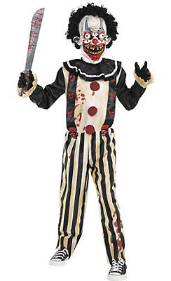 scary clown costumes - Accessories For Halloween Costumes
