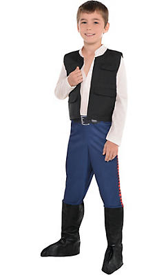 Boys Han Solo Costume - Star Wars