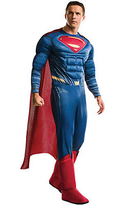 Adult Superman Muscle Costume - Batman v Superman: Dawn of Justice