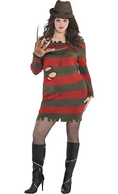 Adult Miss Krueger Costume Plus Size - A Nightmare on Elm Street