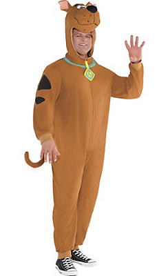 Adult Zipster Scooby-Doo One Piece Costume Plus Size