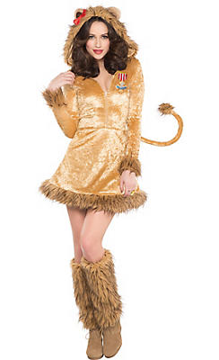 Adult Cowardly Lion Costume - The Wizard of Oz