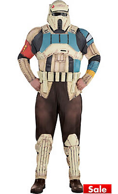 Adult Shoretrooper Costume Plus Size - Star Wars Rogue One