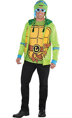 Adult Leonardo Costume Deluxe - Teenage Mutant Ninja Turtles
