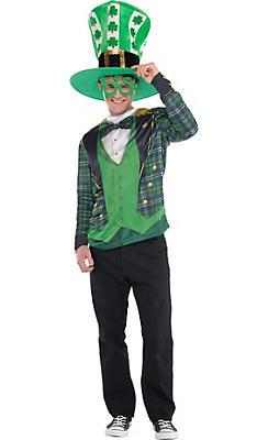 Adult Plaid St. Patrick's Day Costume