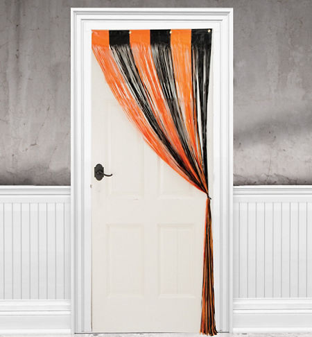 Curtains Ideas curtains in doorways : Halloween Door Decorations - Halloween Door Curtains - Party City