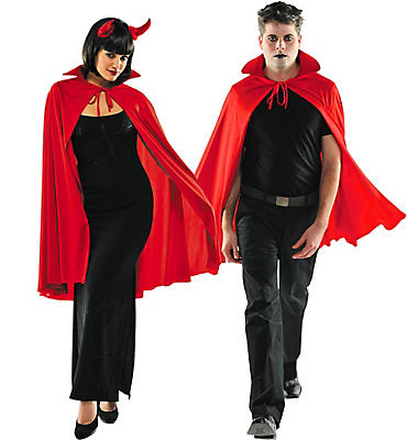 Adult Red Cape Deluxe