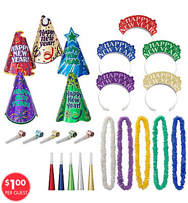 Let's Party New Years <span class=messagesale><br><b>Party Kit For 10</b></br></span>