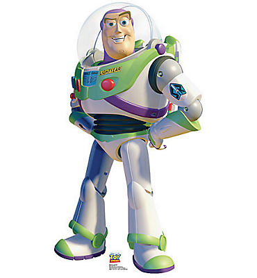 Buzz Lightyear Life Size Cardboard Cutout 48in