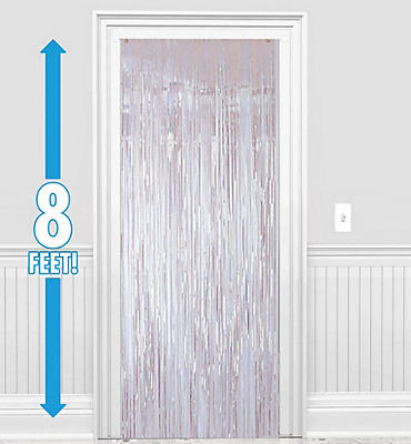 Iridescent Foil Doorway Curtain 8ft
