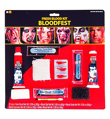 Deluxe Blood Makeup Kit