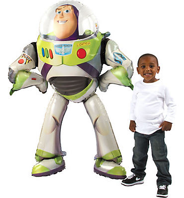 Giant Gliding Buzz Lightyear Balloon 53in